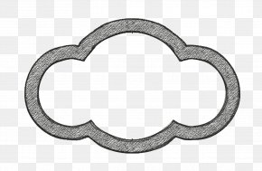 Metal Cloud Icon - Cloud Icon PNG