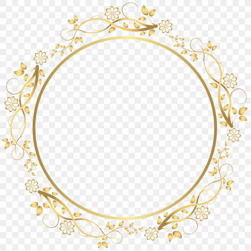 Picture Frame Clip Art, PNG, 7976x8000px, Picture Frames, Area, Drawing, Flower, Ornament Download Free