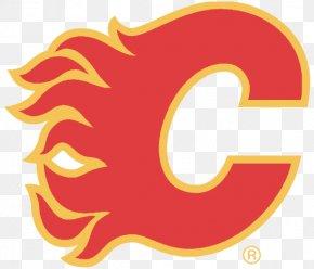 Flame Logo - Calgary Flames Edmonton Oilers Ice Hockey Vancouver Canucks Logo PNG