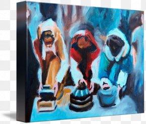 Wise Man - Modern Art Painting Biblical Magi Work Of Art PNG