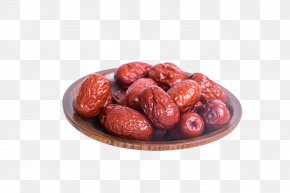 A Big Red Dates - Jujube Download Dried Fruit PNG