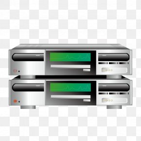 Vector DVD - Server Download Icon PNG