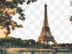 Eiffel Tower In Paris Two - Eiffel Tower Computer Desktop Environment Wallpaper PNG