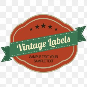 European Wine Label Vector - Paper Adhesive Label Sticker PNG