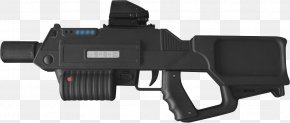 Weapon - Trigger Combat Ops Arena Firearm Laser Tag Weapon PNG