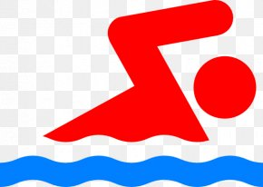 Cartoon Person Swimming - Swimming Pool Stick Figure Person Clip Art PNG