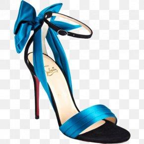 Blue Strap High-heeled Sandals - Court Shoe High-heeled Footwear Clothing Sandal PNG