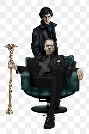 Sherlock - Dr. Gregory House Film Producer Television Art PNG