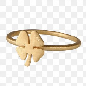 Ring - Ring Silver Four-leaf Clover Gold Jewellery PNG