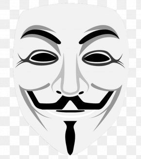 Anonymous - Gunpowder Plot Guy Fawkes Mask Anonymous Clip Art PNG