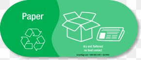 Recycling Paper - Paper Logo Recycling Symbol Sticker PNG