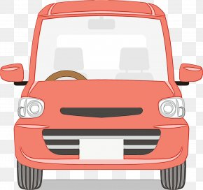 Compact Car Electric Vehicle - Car Cartoon PNG