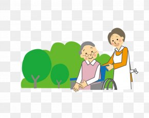 Wheelchairs For The Elderly - Caregiver Old Age Long-term Care Insurance Personal Care Assistant PNG