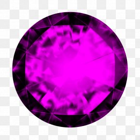 Gemstone - Purple Gemstone Violet Transparency And Translucency Magenta PNG