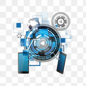 Vector Pattern Science And Technology And Mobile Phones - Technology Euclidean Vector PNG