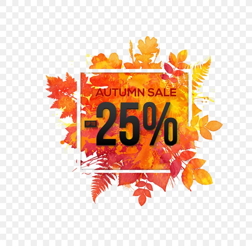 Autumn Poster, PNG, 800x800px, Autumn, Discounts And Allowances, Logo, Orange, Poster Download Free