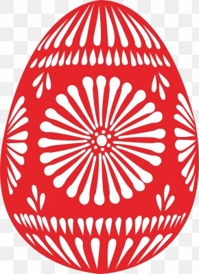 Easter Eggs - Red Easter Egg Clip Art PNG