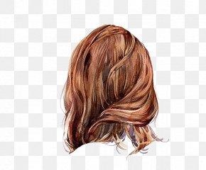 Girls Hair Hair Hair Style - Visual Arts Hair Drawing Watercolor Painting PNG