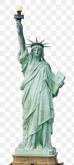 Statue Of Liberty Transparent Background - Statue Of Liberty New York Harbor Staten Island Ferry Colossus Of Rhodes The New Colossus PNG