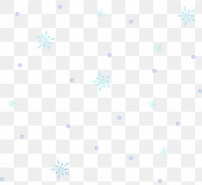 Blue Snowflake Background - Symmetry Area Angle Pattern PNG