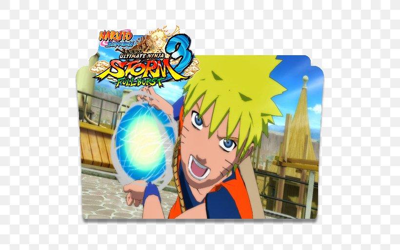 Naruto Shippuden: Ultimate Ninja Storm 3 Full Burst Naruto: Ultimate Ninja Storm Naruto Shippuden: Ultimate Ninja Storm 4 Naruto Uzumaki, PNG, 512x512px, Watercolor, Cartoon, Flower, Frame, Heart Download Free
