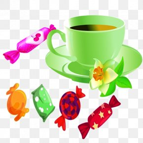 Cartoon Coffee Cup - Coffee Cup Clip Art PNG