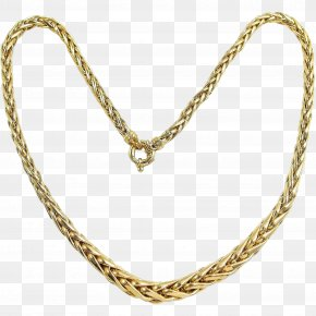 Necklace - Necklace Gold Jewellery Estate Jewelry Chain PNG