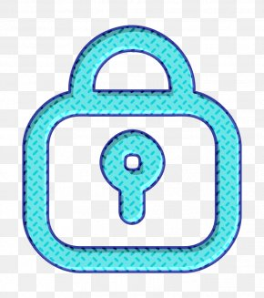 Aqua Turquoise - Home Icon Lock Icon Outline Icon PNG