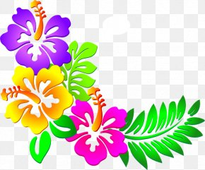Hawaiian Cliparts - Flower Free Content Clip Art PNG