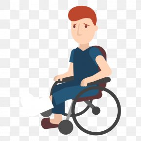 Man Sitting In A Wheelchair - Travel Insurance Wheelchair Service Health Care PNG