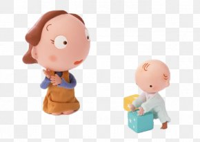 Mother And Baby - Mother Cartoon Infant PNG