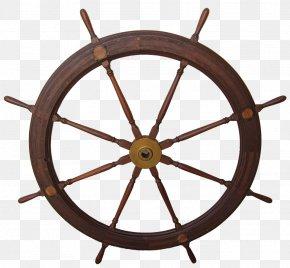 Ship - Ship's Wheel Mast Sail Maritime Transport PNG