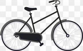 Retro Grey Bike - Road Bicycle Cycle Cave Inc Cycling Bicycle Shop PNG