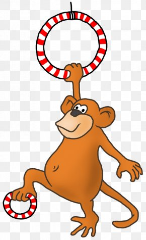 Handspring - Drawing Cartoon Monkey Clip Art PNG