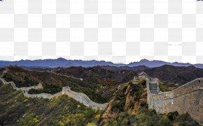 Great Wall Of China Site - Great Wall Of China Jinshanling History Of China Tourist Attraction PNG