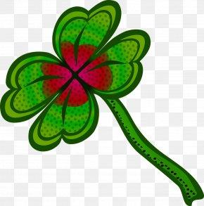 Green Clover - Ireland Four-leaf Clover Shamrock PNG
