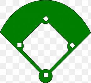 Blank Baseball Diamond - Baseball Field Baseball Park Clip Art PNG