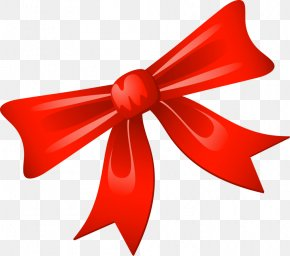 Bow - Christmas Gift Clip Art PNG