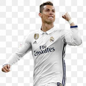 Cristiano Ronaldo - Cristiano Ronaldo Portugal National Football Team Real Madrid C.F. Jersey FIFA 18 PNG