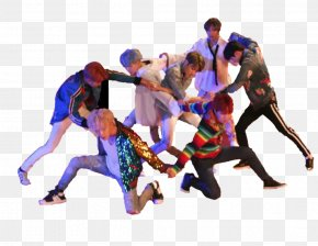 Group Dance - BTS DNA Love Yourself: Her Go Go MIC Drop PNG
