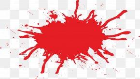 A Mass Of Blood - Blood Splatter Film PNG