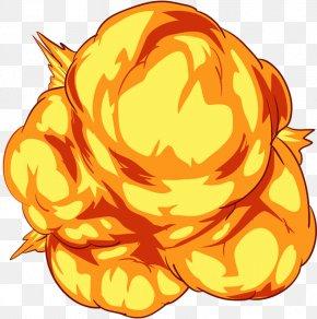 Yellow Explosions - Jack-o'-lantern Explosion Illustration PNG
