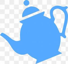 Teapot Silhouette - Teapot Coffee Teacup Clip Art PNG