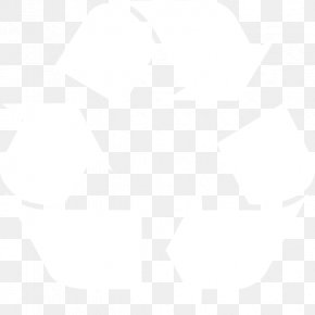 Recycle - Black And White Point Angle PNG