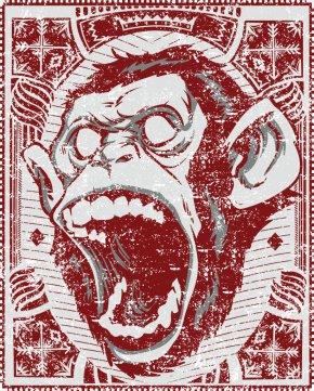 Gorilla - Chimpanzee Ape Primate Gorilla The Evil Monkey PNG