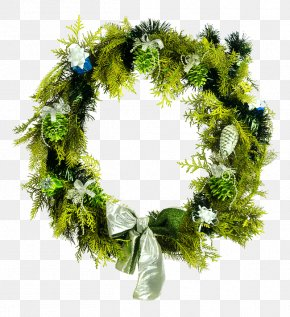 Green Garland - Christmas Decoration Wreath Stock Photography Stock.xchng PNG