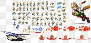 Super Smash Bros - Super Smash Bros. Brawl Mario Kirby Fox McCloud Sprite PNG