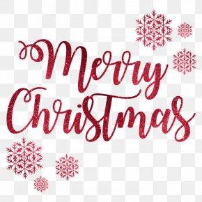 Christmas Art Word - Christmas New Year PNG