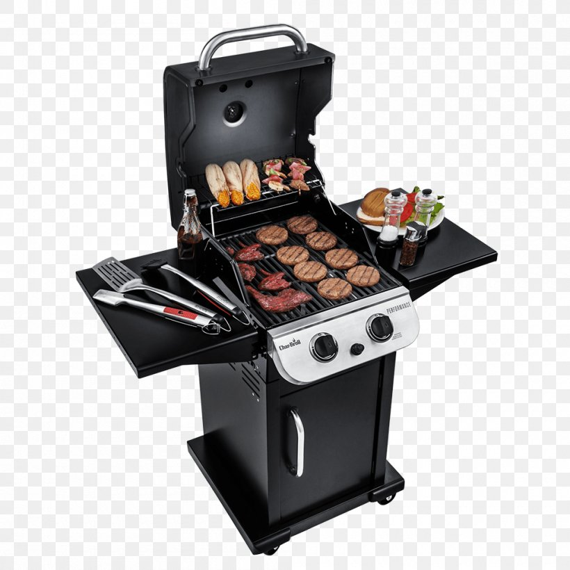 Barbecue Grilling Char-Broil Performance 463376017 Tailgate Party, PNG, 1000x1000px, Barbecue, Animal Source Foods, Brenner, Charbroil, Charbroil Performance 463376017 Download Free