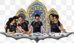 League Of Legends - League Of Legends The Last Supper Counter Logic Gaming Team SoloMid PNG